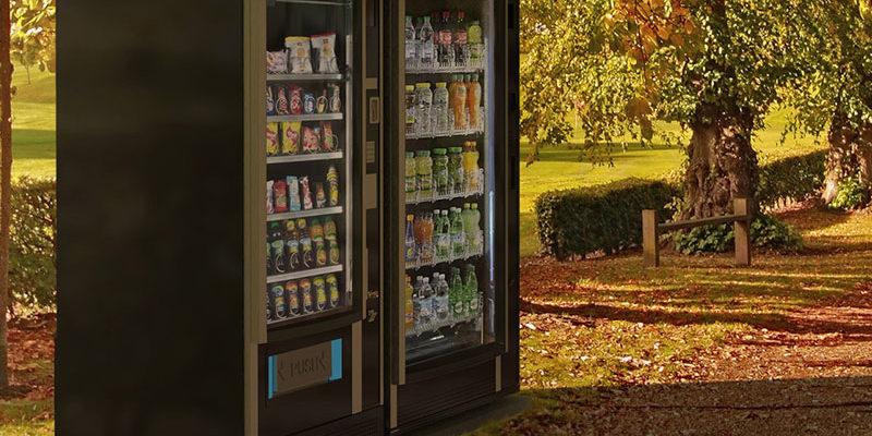 vending machine, distributeur automatique extérieur