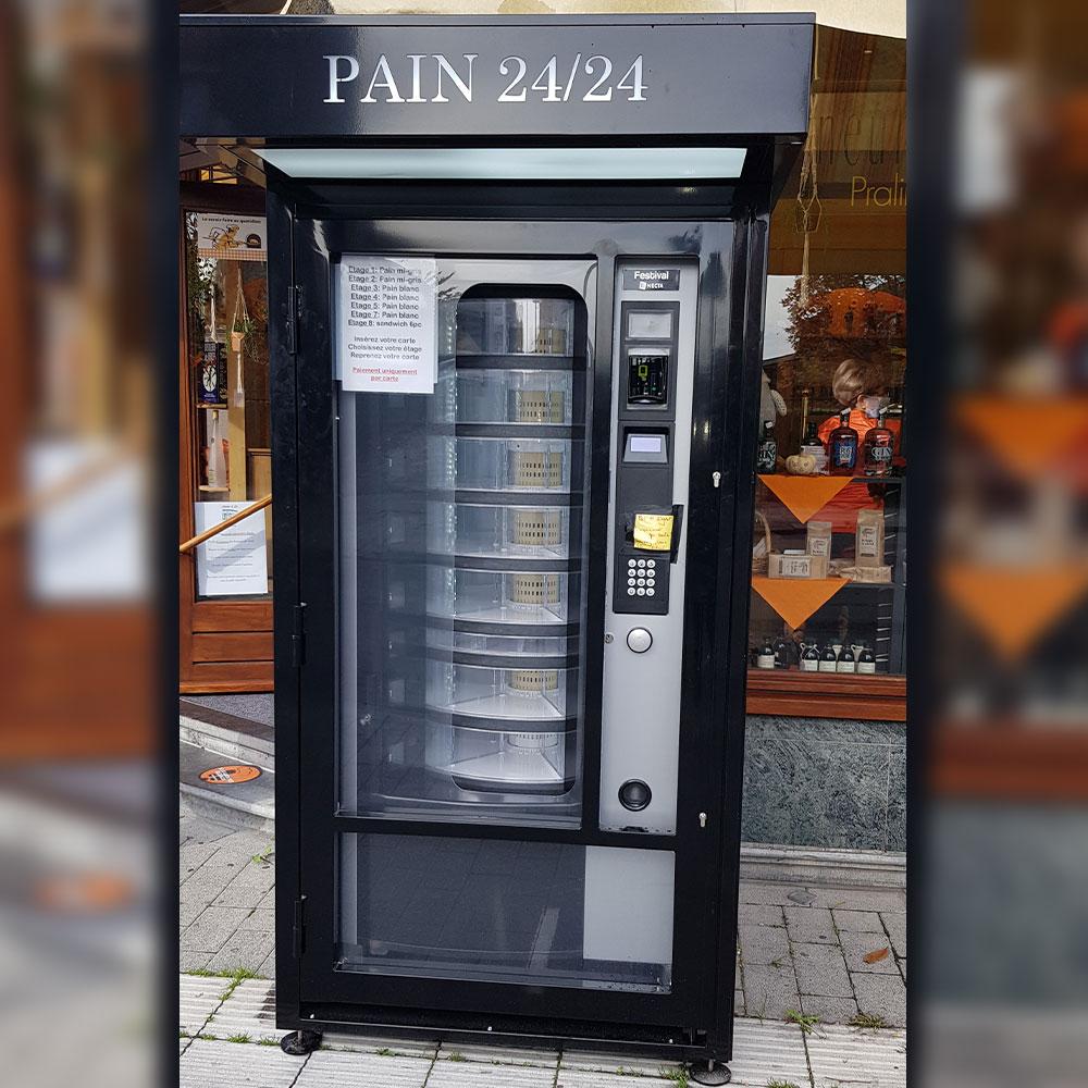 distributeur automatique pain