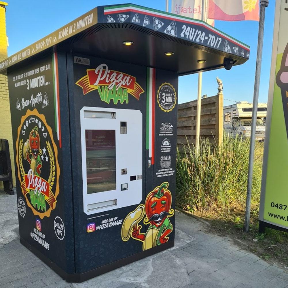 distributeur automatique pizza