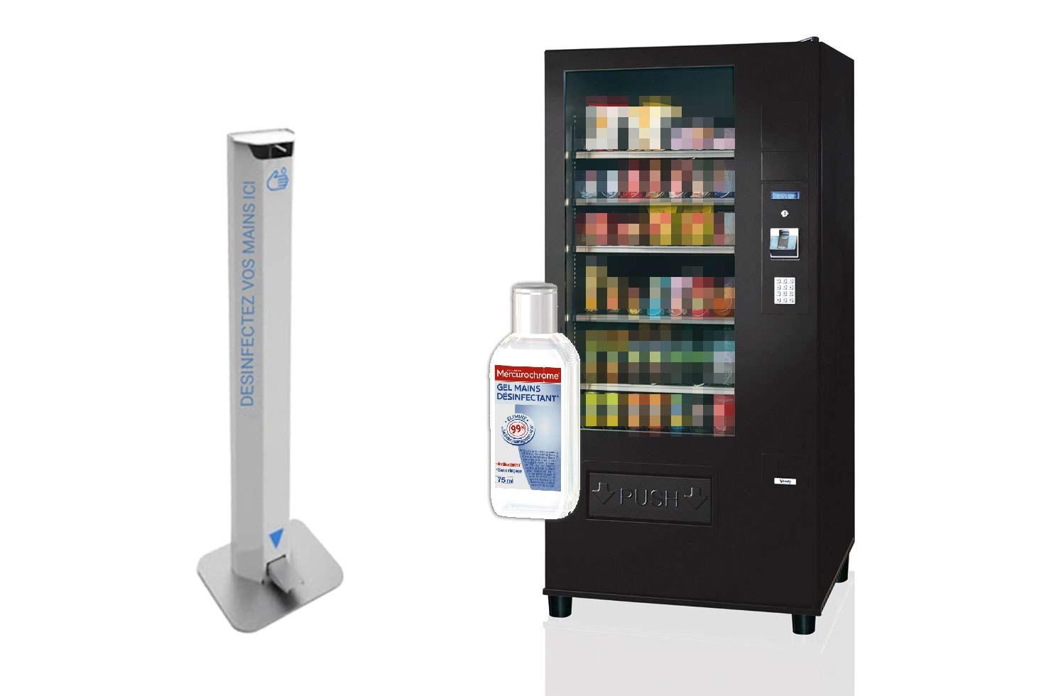 distributeur gel hydroalcoolique belgique